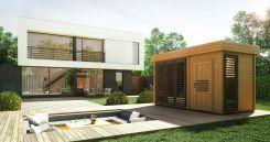 Home&Garden Sauna Fińska Zewnętrzna Azalia