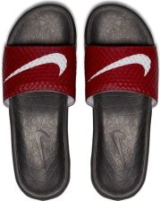 Klapki męskie Benassi Solarsoft Slide 2 Nike (czarno-bordowe) 6d2bec124b