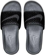26d3620cedd Klapki męskie Benassi Solarsoft Slide 2 Nike (czarno-grafitowe)