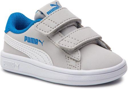 0a08636f462 Sneakersy PUMA - Smash v2 Buck V inf 365184 08 Gray Violet Puma White  eobuwie
