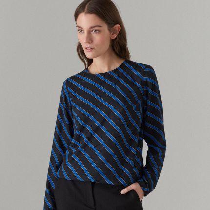 8996d9e95e151 Mohito - Elegancka bluzka z długimi rękawami - Czarny Mohito