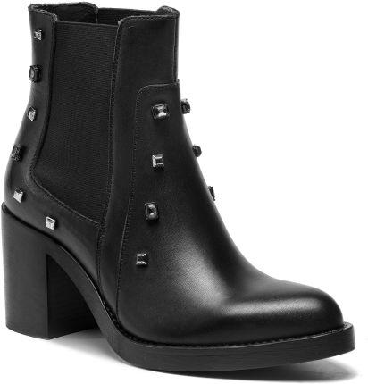 35f421f1ceb Botki STEVE MADDEN - Renne Ankle Boot SM11000189-04001-001 Black ...