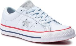 01cb03b1cd0a3 Tenisówki CONVERSE - One Star Ox 160626C Blue Tint/Gym Red/White eobuwie