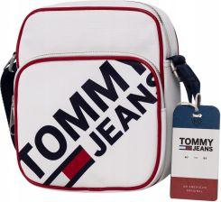 5843984b4e157 Tommy Hilfiger Torba Listonoszka Tjm Modern White - Ceny i opinie ...