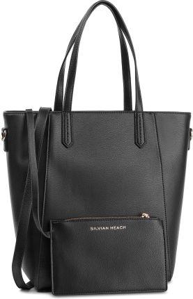 98a3a0ba8c27e Torebka SILVIAN HEACH - Shopper Bag Sally RCP19006BO Sally Black W0148  eobuwie