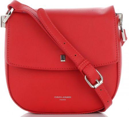 c014907144e9d Firmowe Torebki Damskie David Jones Uniwersalna Listonoszka na każdą okazję  Czerwona (kolory) ...