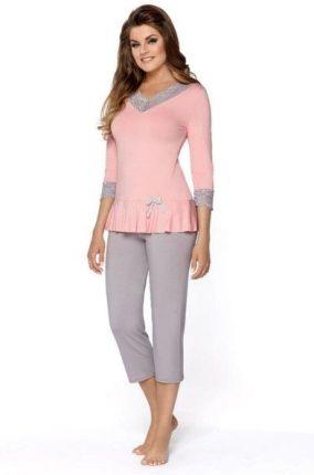 3f2303690c06c0 Italian Fashion felicita krótki rękaw różowy koszula nocna - Ceny i ...