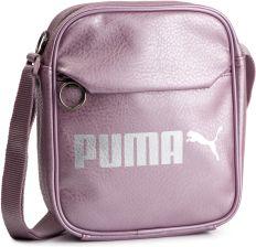 344770b4d605f Saszetka PUMA - Campus Portable 075004 07 Elderberry Puma Silver Met eobuwie
