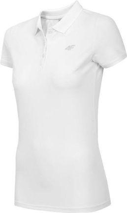 a31934e89 Koszulka polo damska H4L19 TSD013A 4F (biała)
