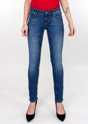 a87e590b Damskie spodnie jeansowe z ozdobnymi zamkami - Ceny i opinie - Ceneo.pl