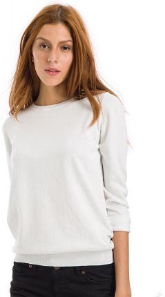 Big Star Sweter Damski Długi Ecru Meene 107 S Ceny i