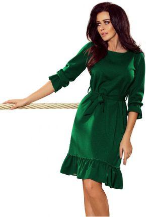 b6f30a64 Sukienka koronkowa z długim rękawkiem GRANAT - XL - Ceny i opinie ...