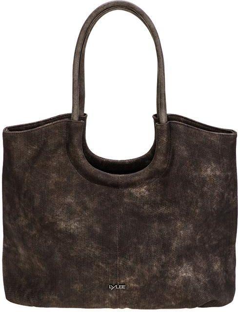 0e692ba8126ef LYLEE Elegancka torebka torba na zakupy Frances ciemnobrązowy - zdjęcie 1