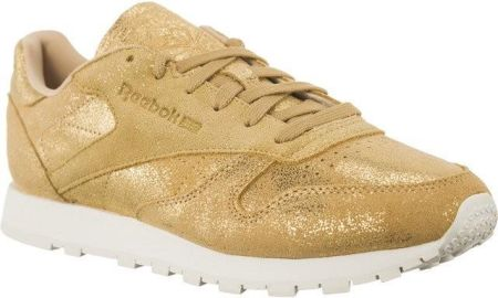 Reebok CLASSIC LEATHER SHIMMER Gold Chalk 40,5 Ceny i opinie Ceneo.pl
