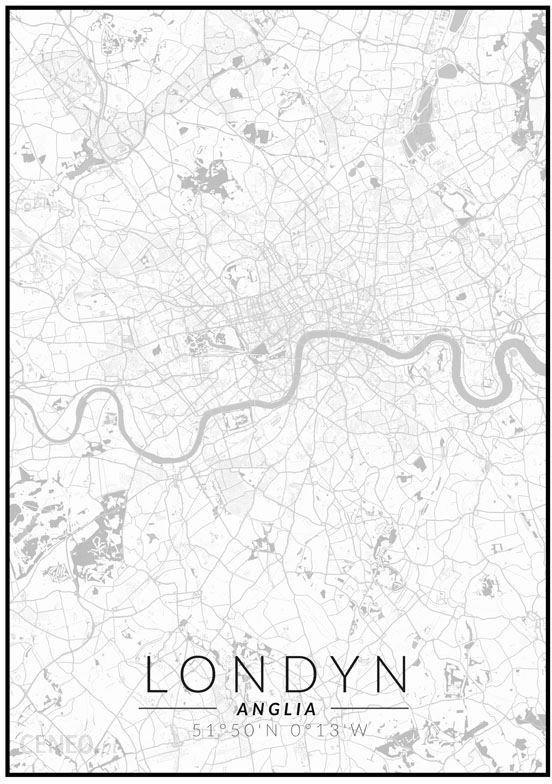 Galeria Plakatu Londyn Mapa Czarno Biała Plakat 40x60 Cm Gm142840x60 Opinie I Atrakcyjne Ceny Na Ceneopl