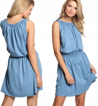 4fb034de99 Plisowana sukienka koktajlowa pasek F69 ZIELONA - Ceny i opinie ...