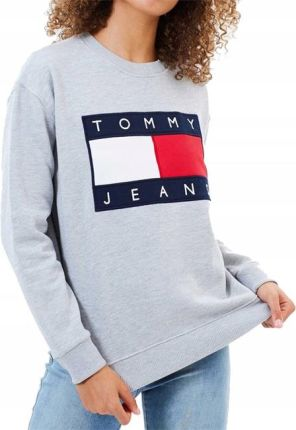 5e5475325be92 Bluza Damska Tommy Hilfiger Jeans 90S Crew Sz XL Allegro