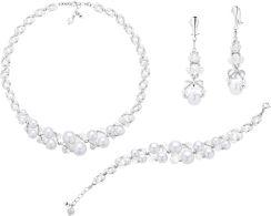 f901dfa56cce Komplet Biżuterii Ślubnej Z Klipsami Rozmiar S K124