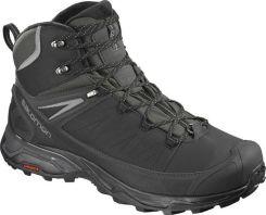 Boots SALOMON Shelter Climashield Waterproof Black Stone Blue 376873