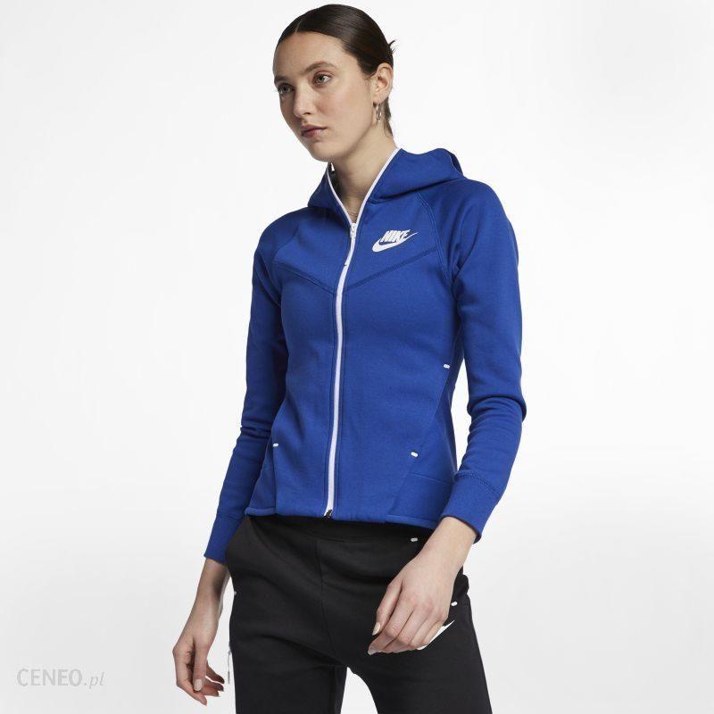 Nike Damska rozpinana bluza Sportswear Tech Fleece Fiolet