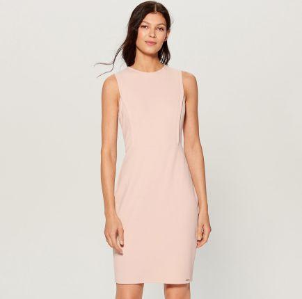 82d64d345e Mohito - Dopasowana sukienka - Różowy Mohito