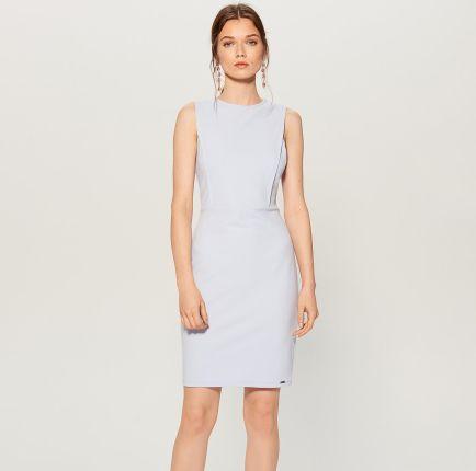 f9ea8d1516 Mohito - Dopasowana sukienka - Niebieski Mohito