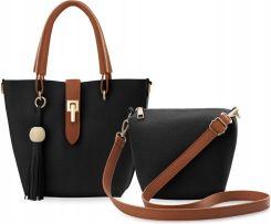 3ed613e2effc1 Torebka Damska Worek 2W1 Shopper Bag Listonoszka Allegro
