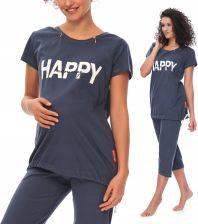 13fc877bd2d129 Pcb 9623 Happy Mommy Doctor Nap piżama ciążowa Allegro