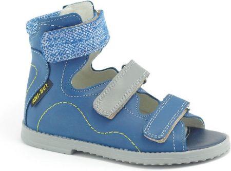 c47f93cc959d Sandały profilaktyczne ANI-BUT Maxel kolor niebieski. Buty profilaktyczneSandały  profilaktyczne ...