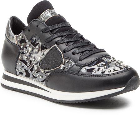 ba5990e07f427 Sneakersy PHILIPPE MODEL - Tropez TRLD DM03 Diamant Noir eobuwie