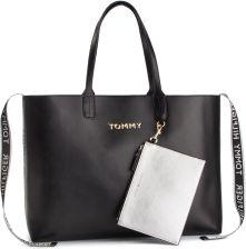 31fbf5e4c8a09 Torebka TOMMY HILFIGER - Iconic Tommy Tote AW0AW06446 002 eobuwie