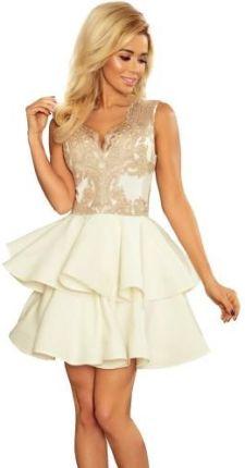 3265484416 Sukienka CRISTINA rozkloszowana - MIĘTOWA - S - Ceny i opinie - Ceneo.pl