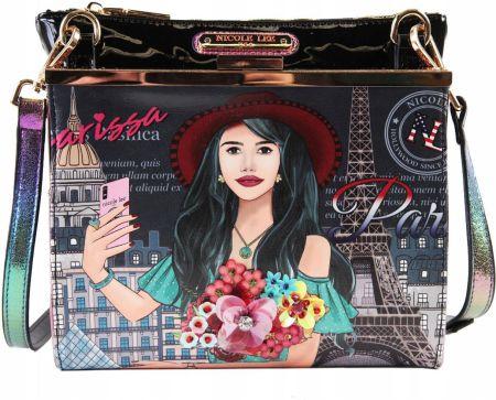 d290fa7c217d6 Nicole Lee Yarissa In Paris Crossbody Bag Allegro