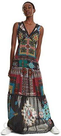 schnelle Farbe Gute Preise große Auswahl von 2019 Amazon Desigual długa sukienka z nadrukiem etnicznym Nicole SKU: 19SWVW76 -  40 - Ceneo.pl