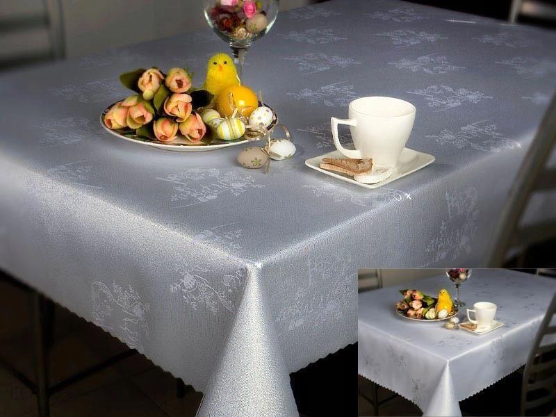 Swiateczny Obrus Wielkanoc Owal Szary 140x240cm Opinie I Atrakcyjne Ceny Na Ceneo Pl
