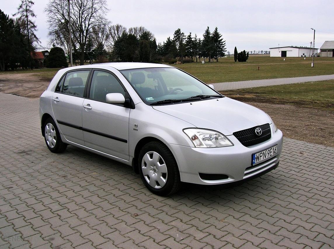 Toyota Corolla 4 Drzwi Klimatyzacja 2 X Opony Opinie I Ceny Na