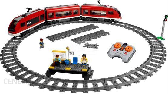 Klocki Lego City Pociąg Pasażerski 7938 Ceny I Opinie Ceneopl