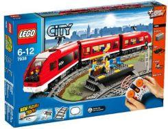 Klocki Lego City Pociąg Pasażerski 60197 Ceny I Opinie Ceneopl