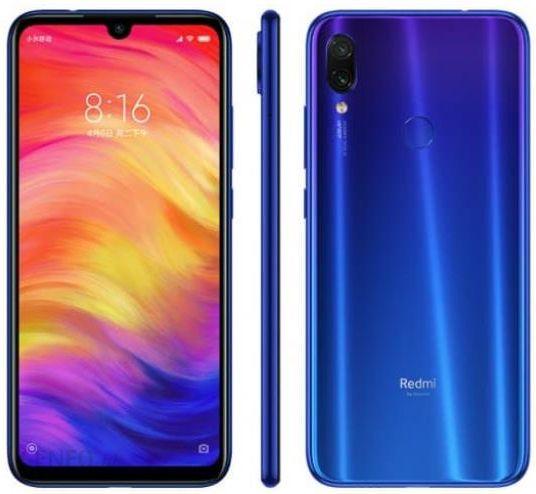 915c3077f5f2f2 Xiaomi Redmi Note 7 4/64GB Niebieski - Ceny i opinie na Ceneo.pl