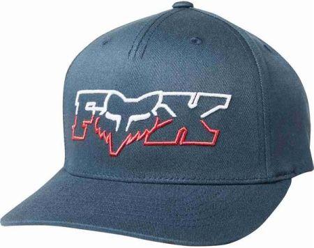 sports shoes 11c51 caf79 czapka z daszkiem FOX - Duel Head 110 Snapback Navy Red (248)
