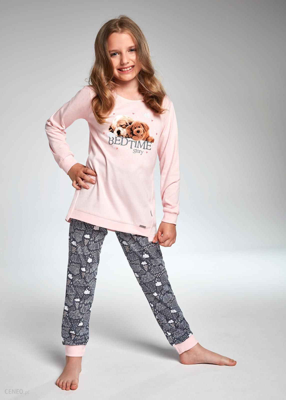 2fedeb3e014364 Piżama Cornette Kids Girl 035/101 Bedtime Story dł/r 86-128 ROZMIAR ...