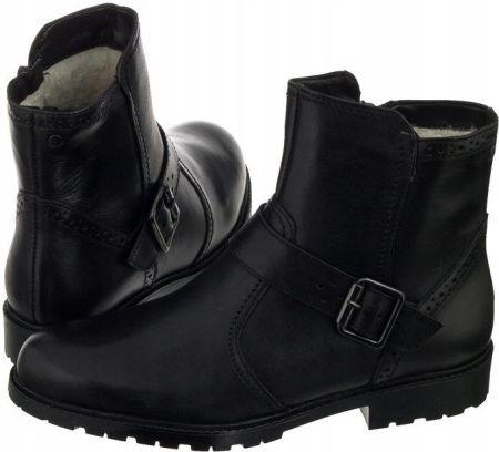3968a5f3 Sneakersy Carinii B3399-360-E50-180-A32 Czarne/Złote Nubuk - Ceny i ...