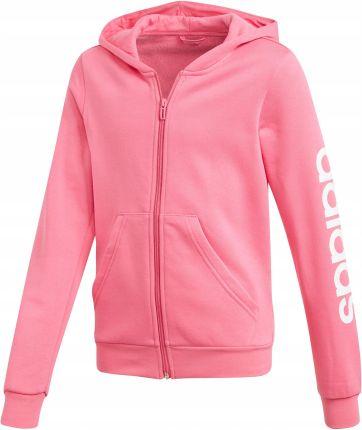 Bluza dziewczęca Trefoil Hoodie Adidas Originals (light pinkwhite) Ceny i opinie Ceneo.pl