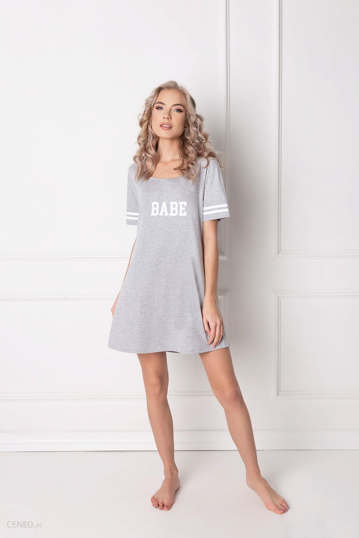 b811ee63607a58 Koszula Aruelle Babe Nightdress kr/r S-XL ROZMIAR: XL, KOLOR: szary ...