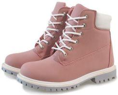 169ffe8b Różowe trapery botki timberki buty 851 40 Allegro
