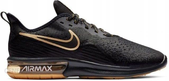 44,5 Buty Nike Air Max Sequent AO4485 005 Czarne Ceny i opinie Ceneo.pl