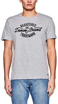 7dcd40e9e57b5 Amazon edc by Esprit męski T-shirt - krój dopasowany s szary (Medium Grey