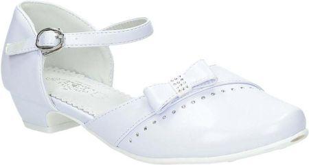 537615d58f Białe buty komunijne na koreczku American Club - Ceny i opinie ...