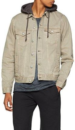 9ee5a5b0f10f8 Amazon New Look kurtka męska Denim Jersey - kurtka jeansowa