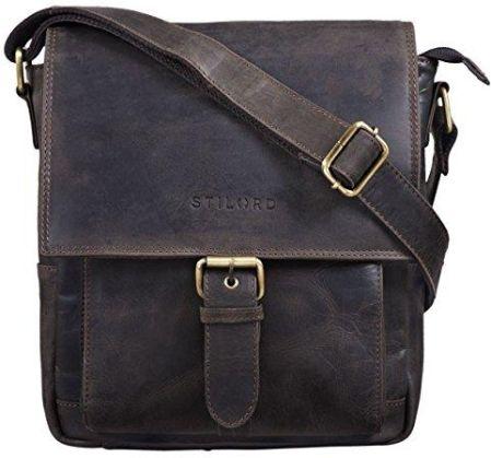 a4257a1af48ef Amazon Stilord 'Nevio' męska torba skórzana torba na ramię mała torba na  ramię elegancka